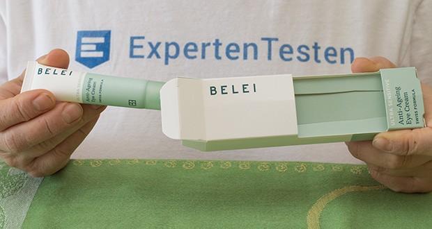Belei Ultra sensible Anti-Ageing-Augencreme im Test - Hergestellt in der Schweiz