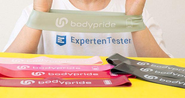 BODYPRIDE Premium Fitness Loop Bands im Test - 100% biologisch abbaubarer Naturkautschuk