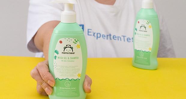 Mama Bear Baby-Waschgel & Shampoo im Test - keine-Tränen-Formel