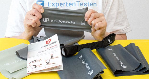 BODYPRIDE Premium Fitness Flat Bands im Test - Latex / BPA-frei