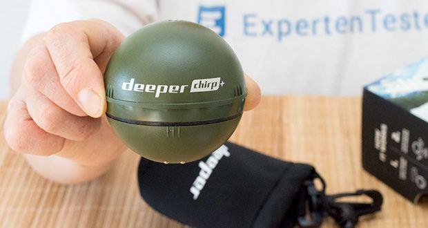 Deeper CHIRP+ Smart Sonar GPS-Fischfinder Set im Test - ist kleiner als ein Tennisball