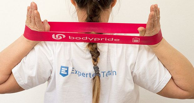 BODYPRIDE Premium Fitness Loop Bands im Test - optimaler Halt