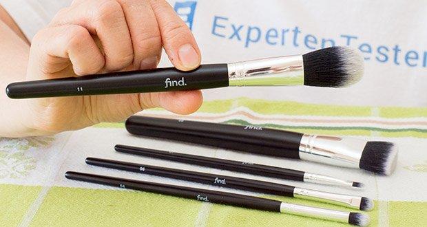 FIND Starterset 5 Pinsel im Test - der Rougepinsel (Nr. 11) konturiert und betont Ihre Wangen auf perfekte Weise, so dass Sie High-Definition-Make-up genießen können