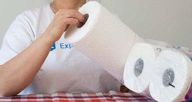 Presto! Jumbo Küchenrollen 3-lagige im Test - 100 % chlorfreies Papier