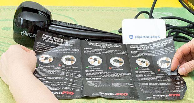 BaByliss Pro BAB2655E The Perfect Curling Machine MiraCurl im Test - dank dem Automatic-Curl System zaubert Ihnen der Mira Curl in nur 3 Schritten schnell und einfach perfekte Locken