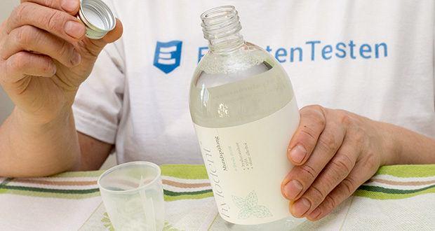 hylodent Bio-Mundspülung Mundwasser im Test - eine optimale Pflege bei Plaque und Karies