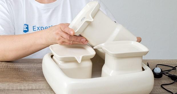 Miaustore Keramik Trinkbrunnen für Katzen im Test - von Tierärzten empfohlen