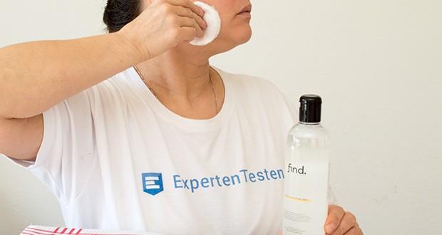 FIND Mizellenwasser im Test - reinigt gründlich, entfernt sanft und ohne Reibung Schmutz und Make- up und beruhigt die Haut in einem Schritt