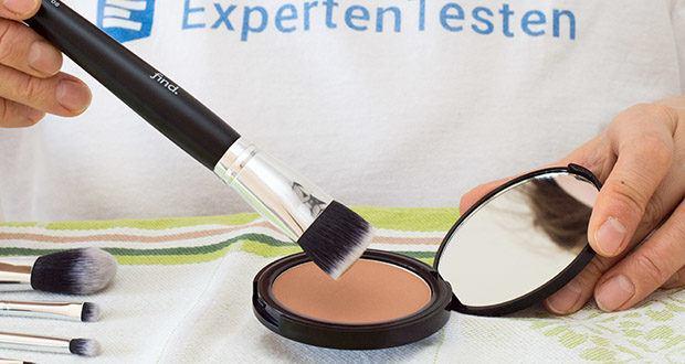 FIND Sunkissed radiance duo Bronzer & Blush im Test - tragen Sie den Bronzer sanft direkt auf die Haut oder auf die Foundation auf