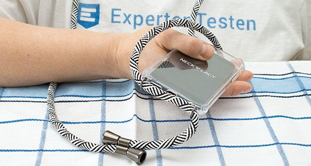 NECKLACY Handyhülle DOMINO SWIRL für iPhone 6/6S im Test - Sie halten dein Gerät sicher, selbst wenn dein Telefon aus deiner Hand fällt