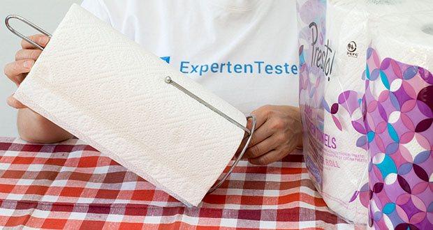 Presto! Jumbo Küchenrollen 3-lagige im Test - sehr stark und widerstandsfähig auch bei Nässe