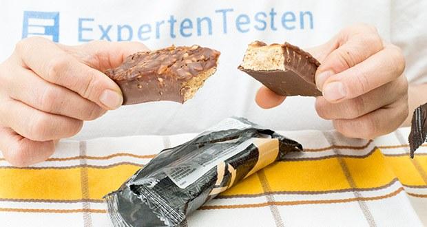 Amfit Nutrition Protein-Riegel mit Erdnüssen im Test - 3 Schichten knuspriger Genuss