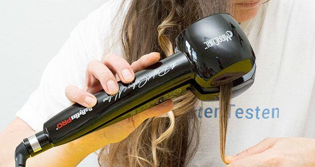 BaByliss Pro BAB2655E The Perfect Curling Machine MiraCurl im Test - leistungsstarkes Heizsystem für ultra-schnelles Aufheizen und sofortiger Temperaturausgleich