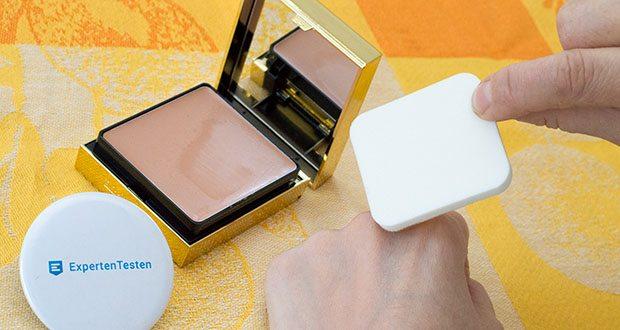 Elizabeth Arden Flawless Finish Sponge-On Cream Makeup im Test - die Haut erscheint glatter und erhält einen gleichmäßigeren Teint