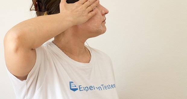 FIND Reinigungsschaum im Test - die leichte Textur reinigt, entfernt wasserlösliches Make-up und schützt die Haut vor dem Austrocknen