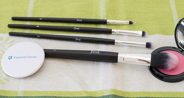 FIND Starterset 5 Pinsel im Test - zum reinigen des Pinsels Wasser mit Reinigungsmittel verwenden
