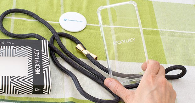 NECKLACY Handyhülle Stormy Grey für iPhone 11 Pro im Test - besonders stabil und schmutzresistent