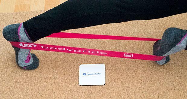 BODYPRIDE Premium Fitness Loop Bands im Test - für Fitness, Krafttraining, Muskelaufbau und Dehnung