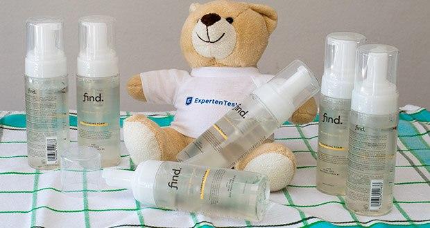 FIND Reinigungsschaum im Test - entwickelt und hergestellt in der Schweiz