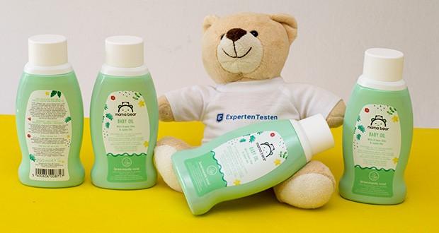 Mama Bear Baby Öl im Test - Hergestellt in der Schweiz
