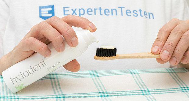 hylodent Bio Zahnpasta im Test - biologische & vegane Zahnpasta ohne Fluor gegen Zahnstein