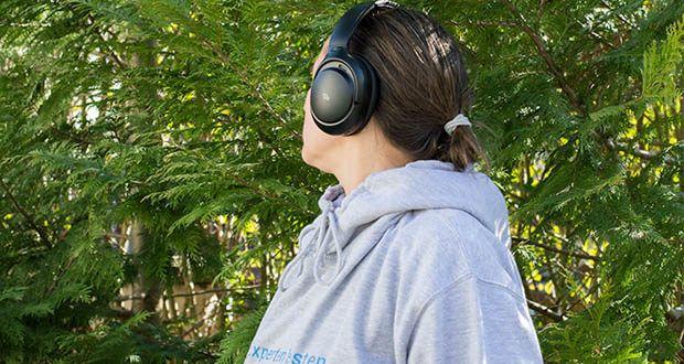 Mu6 Bluetooth Kopfhörer Space2 im Test - Sie können die Menge der Umgebungsgeräusche, die Sie hereinlassen oder ausblenden möchten, mit dem ANC ON / OFF und dem Transparenzmodus steuern