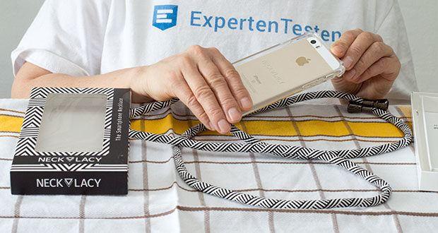 NECKLACY Domino Swirl Handycase für iPhone 7/8 im Test - Stay classy und be styled!