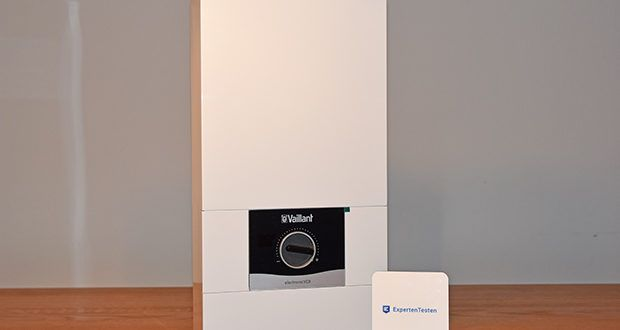 Vaillant Elektro-Durchlauferhitzer VED E 21/7 im Test - Funkfernbedienung für gradgenaue Temperatureinstellung und Verbrauchsdatenanzeige an jeder Zapfstelle