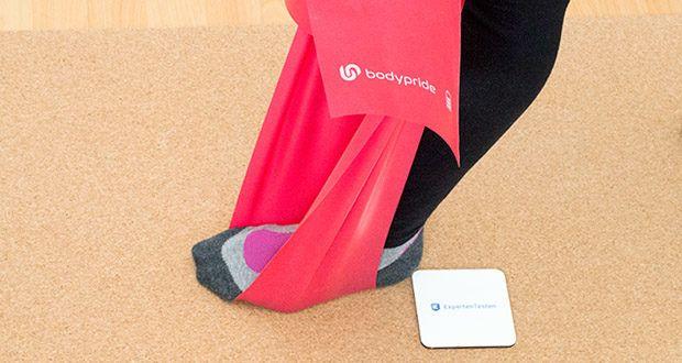 BODYPRIDE Premium Fitness Flat Bands im Test - hautfreundliches Material, dank 100% reißfestem Naturlatex