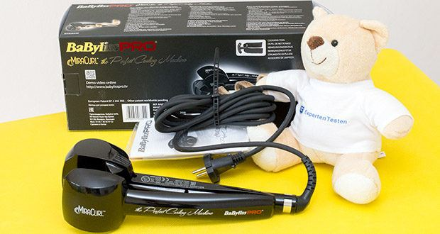 BaByliss Pro BAB2655E The Perfect Curling Machine MiraCurl im Test - arbeitet besonders leise
