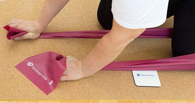 BODYPRIDE Premium Fitness Flat Bands im Test - Fitness, Krafttraining, Muskelaufbau und Dehnung