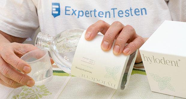 hylodent Bio-Mundspülung Mundwasser im Test - Ihr spezieller, biologischer Pflegekomplex mit Hyaluronsäure und Xylit