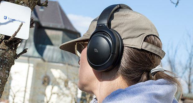 Mu6 Bluetooth Kopfhörer Space2 im Test - mit Mu6 Hybrid Active Noise Cancellation Technology