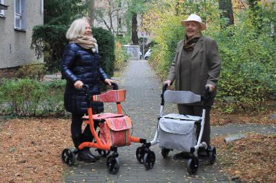 Das Interview mit Bettina Schwäbl vom Rollchic Rollator-Shop