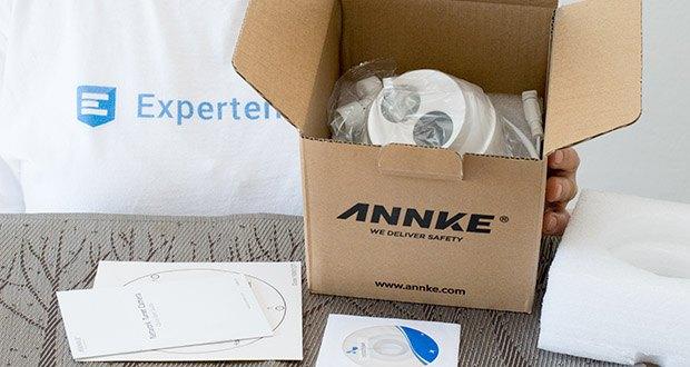 ANNKE 4K HD IP Überwachungskamera im Test - das System bietet die 4 fache Auflösung von 1080P