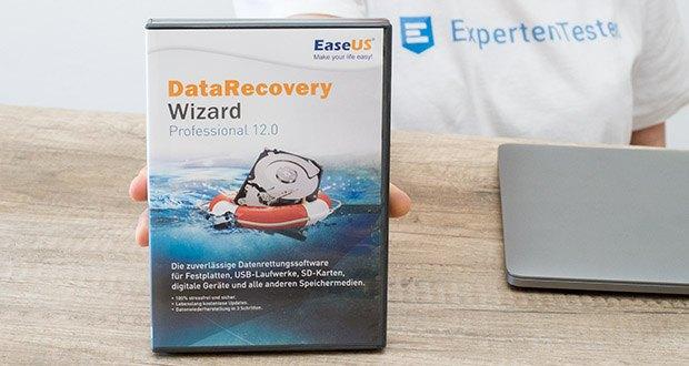 EaseUS Data Recovery Wizard Pro im Test - 100% stressfrei, reibungslos und effizient