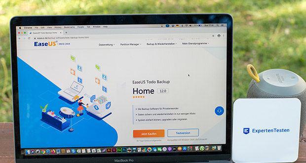 EaseUS Todo Backup Home Pro im Test - die personale Backup-Software um wichtige Daten auf einem Windows-basierten Computer gegen Verlust zu sichern