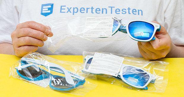 Klickparts Sonnenbrille im Test - Gewicht: 45 g