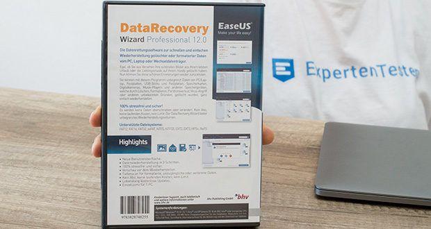 EaseUS Data Recovery Wizard Pro im Test - werden Sie in die Lage versetzt, Ihre verlorenen Daten eigenhändig wiederherzustellen, egal ob sie durch Löschen, Formatieren, Festplattenfehler, Partitionsverlust, Systemabsturtz, macOS Neuinstallation oder Hardwarefehler verlustig gegangen sind