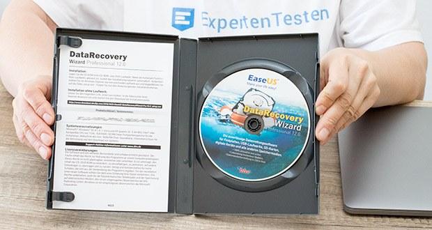 EaseUS Data Recovery Wizard Pro im Test - stellen Sie formatierte oder verlorene Daten vom PC, Laptop oder Wechseldatenträger in 3 Schritten wieder her