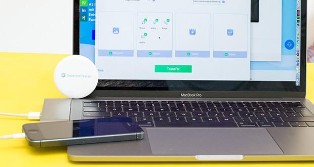 EaseUS MobiMover Pro im Test - exportieren Sie Dateien von iPhone/iPad auf Ihren Computer