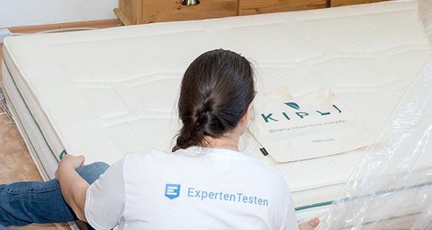 KIPLI Naturlatex-Matratze im Test - Härtegrad H2 & H3 / 7 Komfortzonen