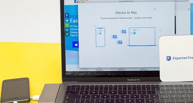 EaseUS MobiMover Pro im Test - Transfer von Computer auf iPhone: Übertragen Sie gewählte Ordner oder einzelne Dateien auf Ihr iPhone/iPad