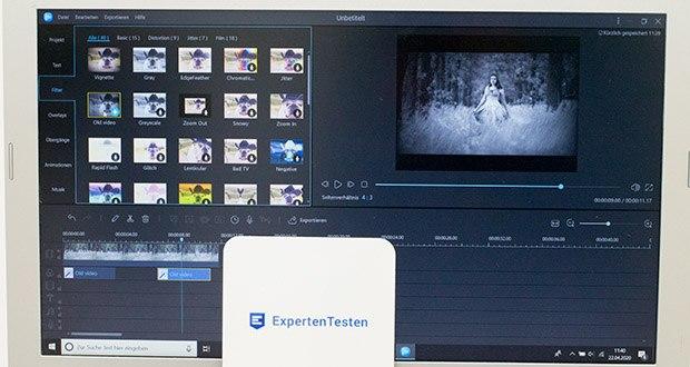 EaseUS Video Editor Pro im Test - 50+ visuelle Effekte und Übergänge ermöglicht Ihnen, professionelle Videos zu erstellen
