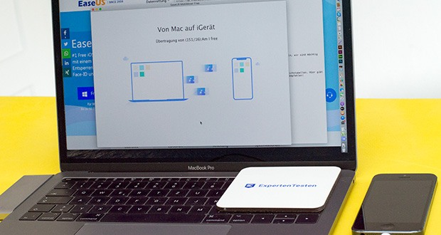 EaseUS MobiMover Pro im Test - importieren Sie Dateien von Ihrem Computer auf iPhone/iPad