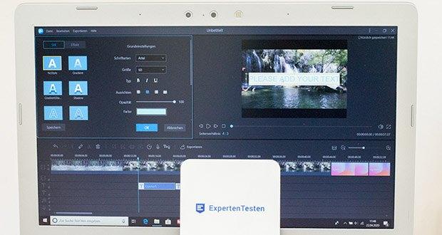 EaseUS Video Editor Pro im Test - Ihre Geschichte wie profession Eiditoren erzählen