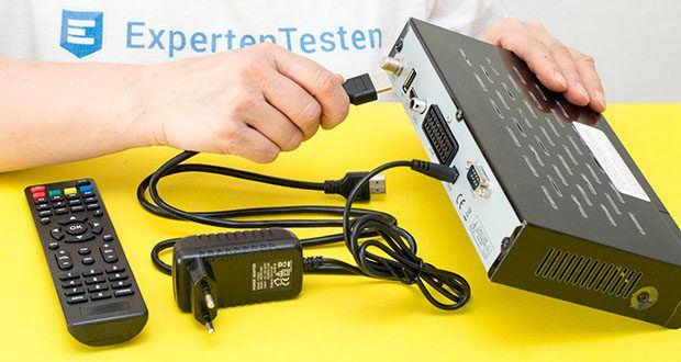 Echosat 20700 S Digitaler HD Satelliten Receiver im Test - Sie können den Satelliten Receiver über weite Entfernungen anwählen und können die gewünschte Bedienung leicht ausführen