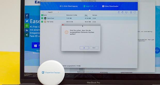 EaseUS MobiMover Pro im Test - erstellen Sie neue Dateien oder Ordner auf Ihrem iPhone/iPad per Computer
