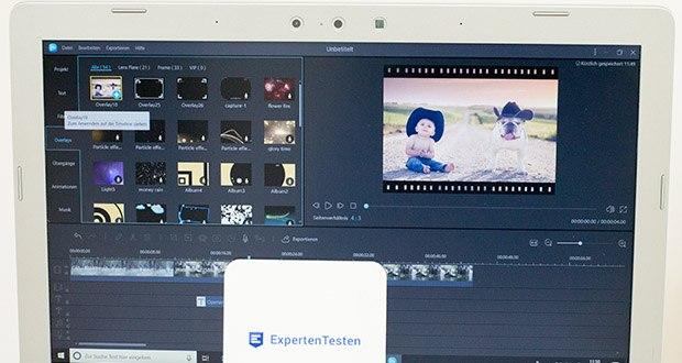 EaseUS Video Editor Pro im Test - umfangreiche und wunderbare Videoeffekte