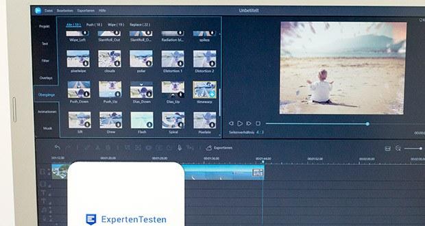 EaseUS Video Editor Pro im Test - unterstützt alle wichtigen Videoformate